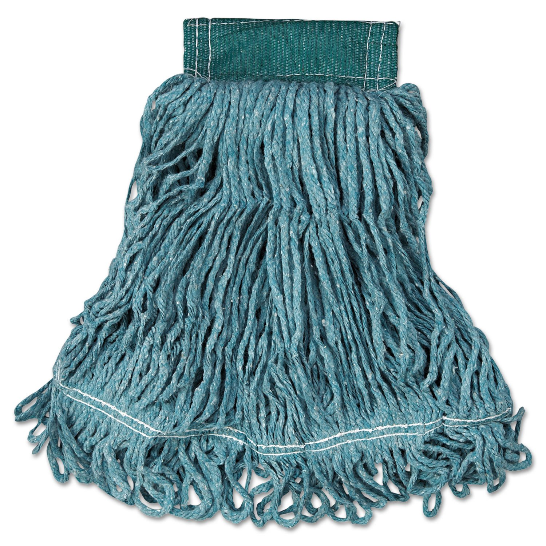 Blue, Replacement Heads Rubbermaid Commercial Dura Pro Blend Cut End Mop