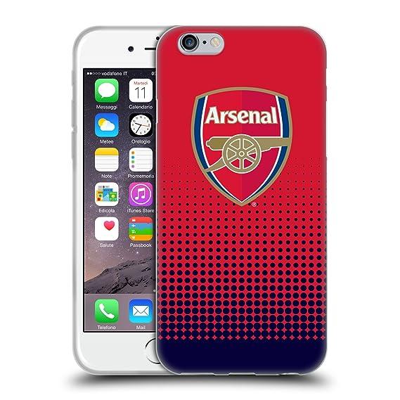 Calendario Arsenal.Amazon Com Official Arsenal Fc Fade 2016 17 Crest Soft Gel