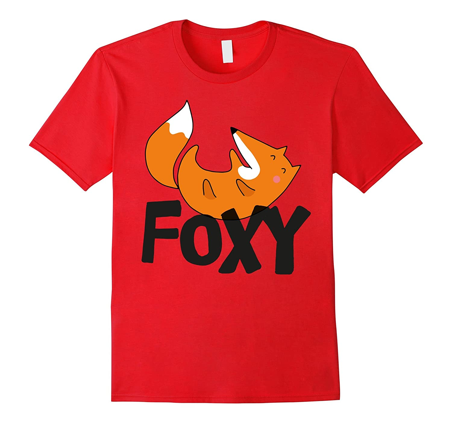 Cute Foxy Halloween T-Shirt - Funny Fox Lovers Tee-T-Shirt