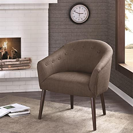 Amazon Barrel Back Accent Chair Mushroom Camilla Kitchen