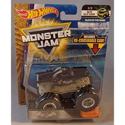 Hot Wheels Monster Jam 1:64 Scale Truck - Batman: Toys & Games [5Bkhe0401996]