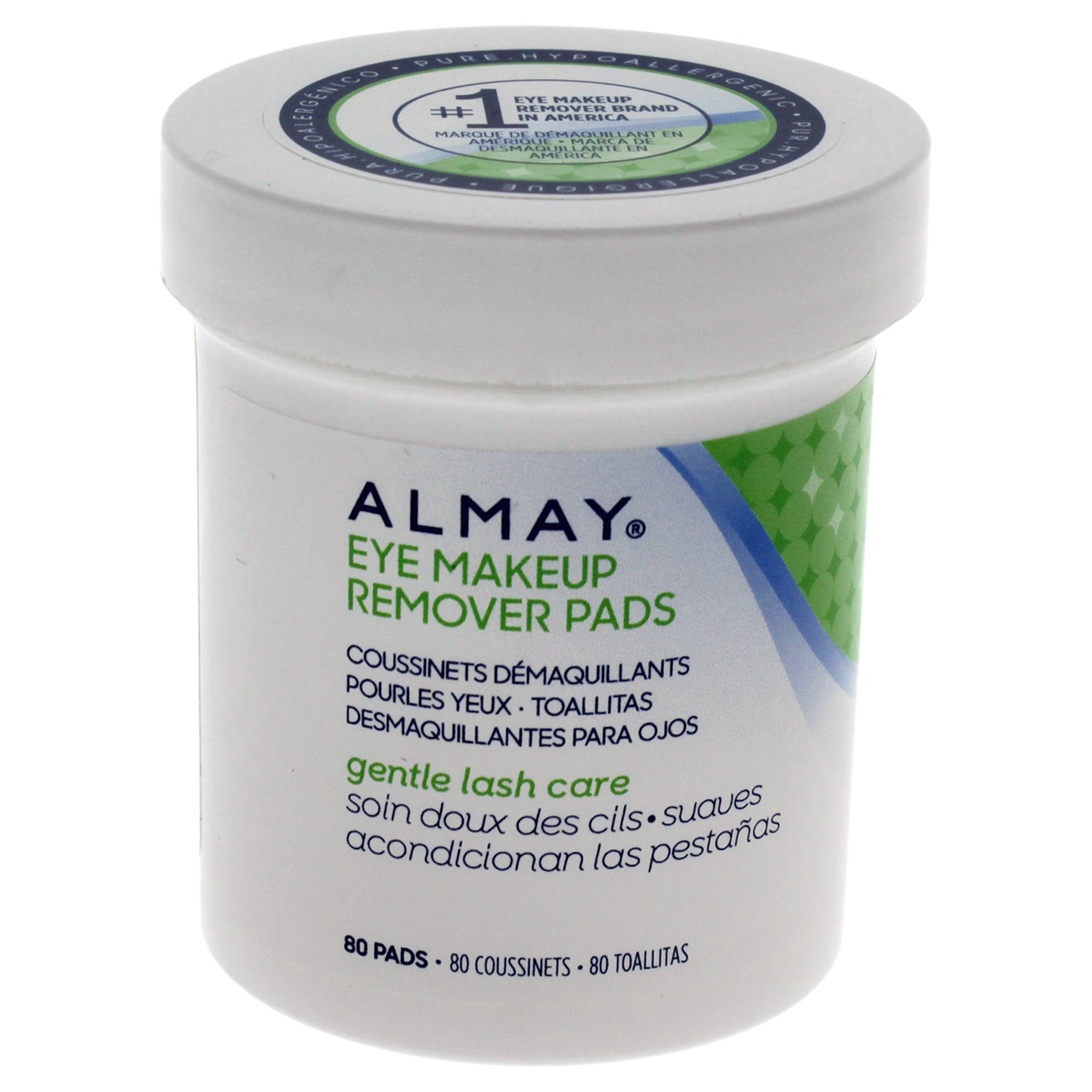 Almay Lash Care Gentle Eye Makeup Remover Pad, 80 count