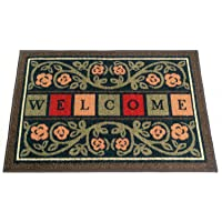Deals on Ottomanson 20 X 30-inch Multicolor Welcome Doormat