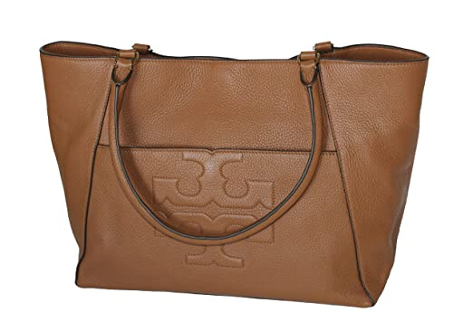 242ef281ca09 Image Unavailable. Image not available for. Color  Tory Burch Bombe T  Leather ...
