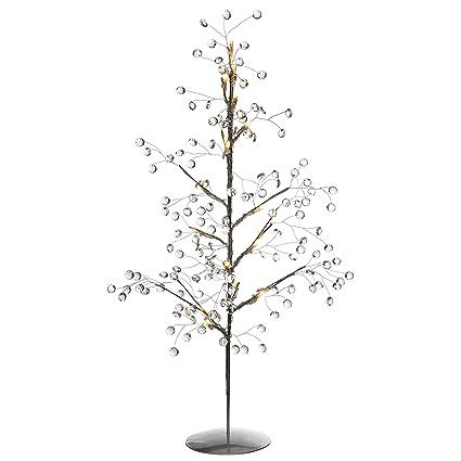 Werchristmas árbol De Navidad Con 15 Luces Led Y Cristales 60 Cm