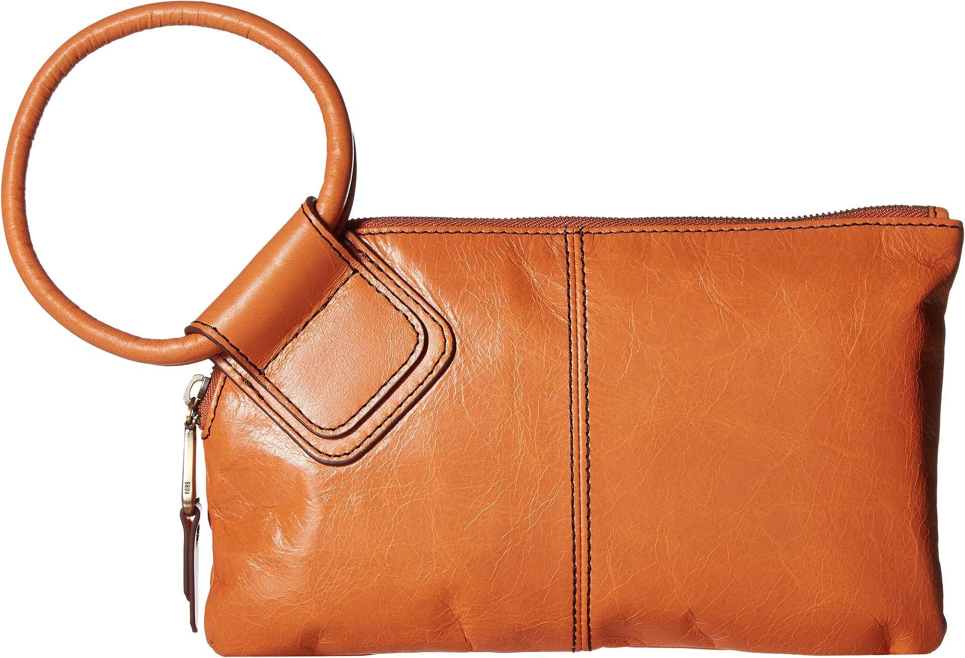 Hobo Women's Leather Sable Wristlet Clutch Wallet (Dusty Coral)