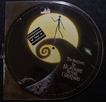 Tim Burton\'s The Nightmare Before Christmas; 2 Lp picture disc ...