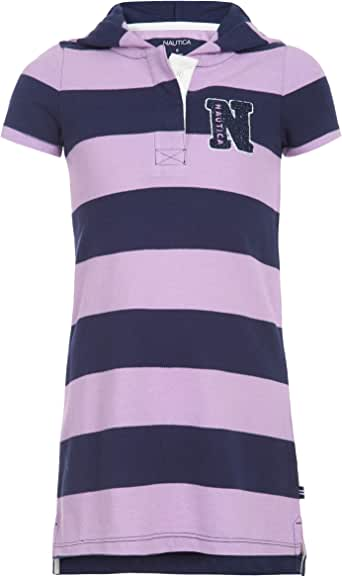 Nautica Girls' Short Sleeve Polo Dress