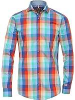 Venti Herren Freizeithemd 100% Baumwolle Slim Fit