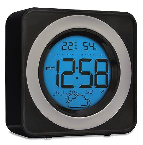 Acctim 71563 Valencia estación meteorológica, negro, LCD ...