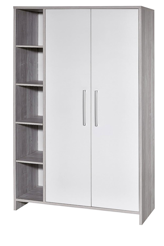 Schardt 06 550 88 00 Kleiderschrank mit 2 Türen und Seitenregal Eco Cascina