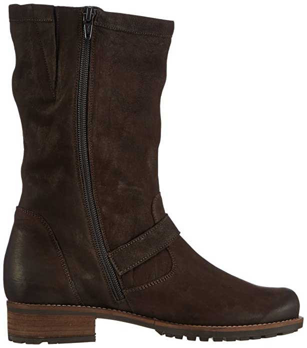 Barbara, Womens Cold lined biker boots half shaft boots and bootees Semler