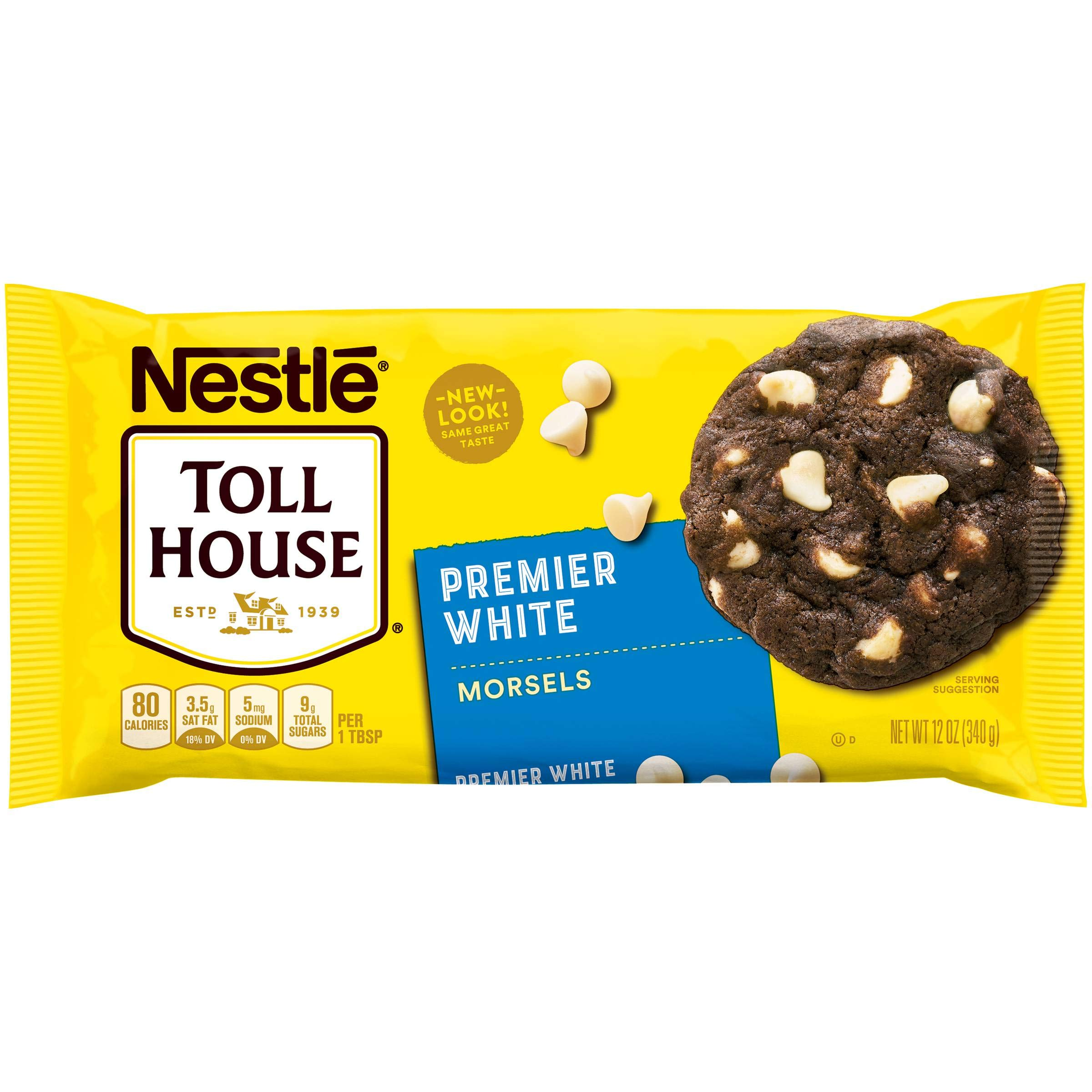 Nestle Toll House Premier White Morsels 12 oz (Pack of 12)