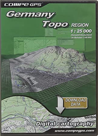 TwoNav Tarjeta Alemania Zone TOP25 para GPS: Amazon.es ...