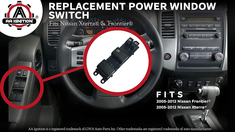 Power Window Switch Fits Nissan Frontier Xterra 2008 Engine Diagram Replaces 25401 Ea003 2005 2006 2007 2009 2010 2011 2012 Models Driver