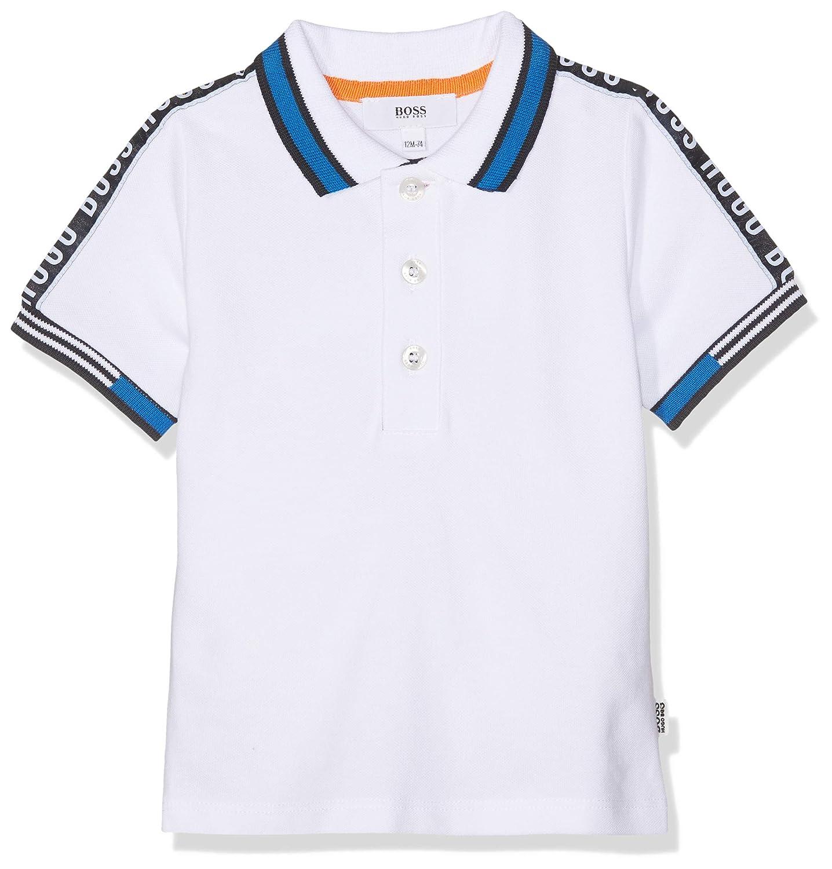 BOSS Baby Boys Polo Manches Courtes Shirt