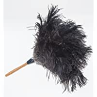 """GM Royal Ostrich Feather Duster (Small GM01 (16""""), Black)"""