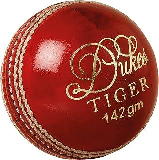 Dukes Tiger una palla da cricket Junior (colore: Rosso)