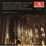 Pachelbel, J.: Organ Music, Vol. 7