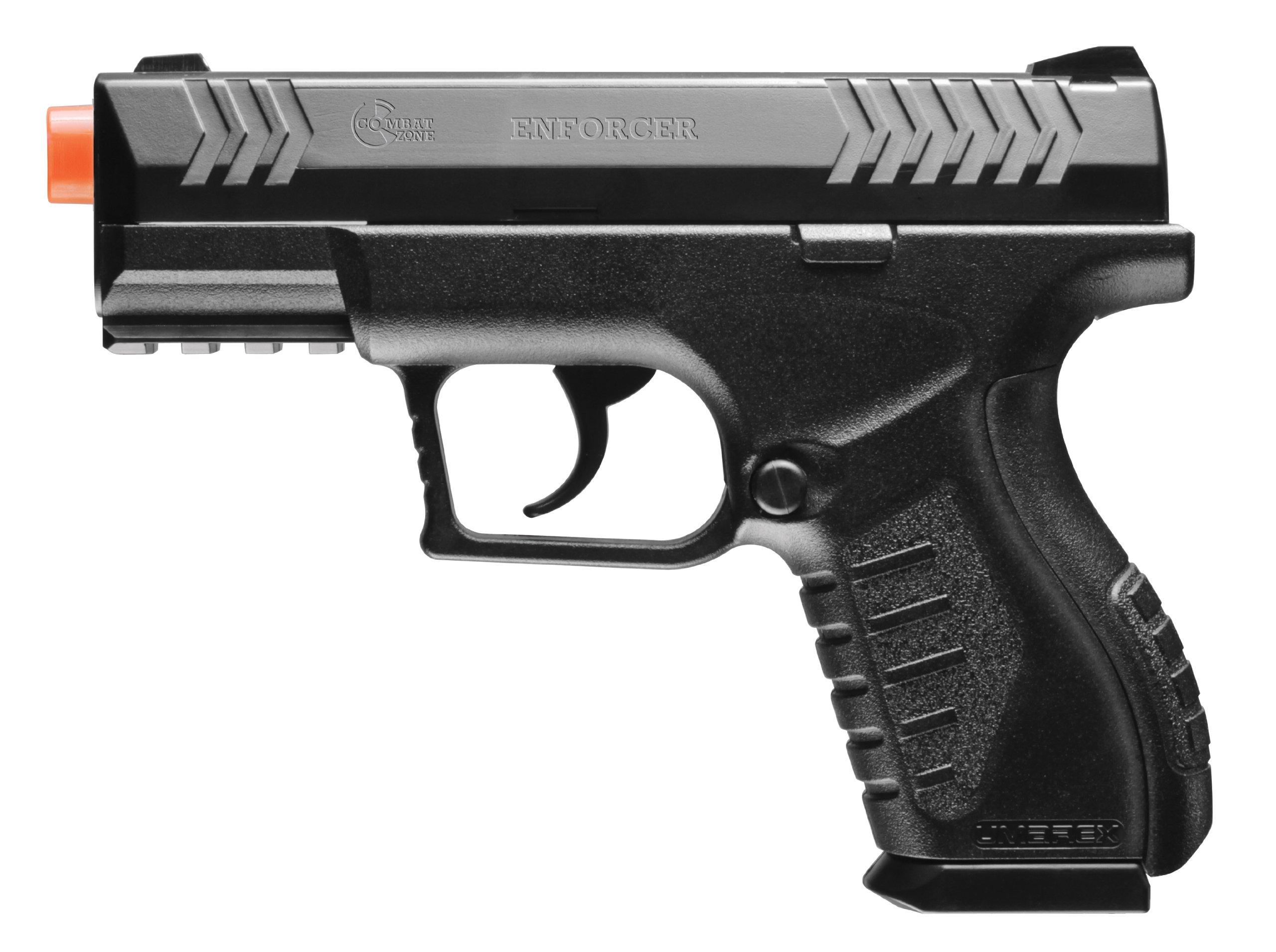 Umarex Combat Zone Enforcer 6mm BB Pistol Airsoft Gun by Elite Force