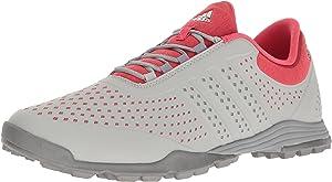 PUMA Golf Women's Brea Fusion Sport Golf Shoe, Cameo Rose