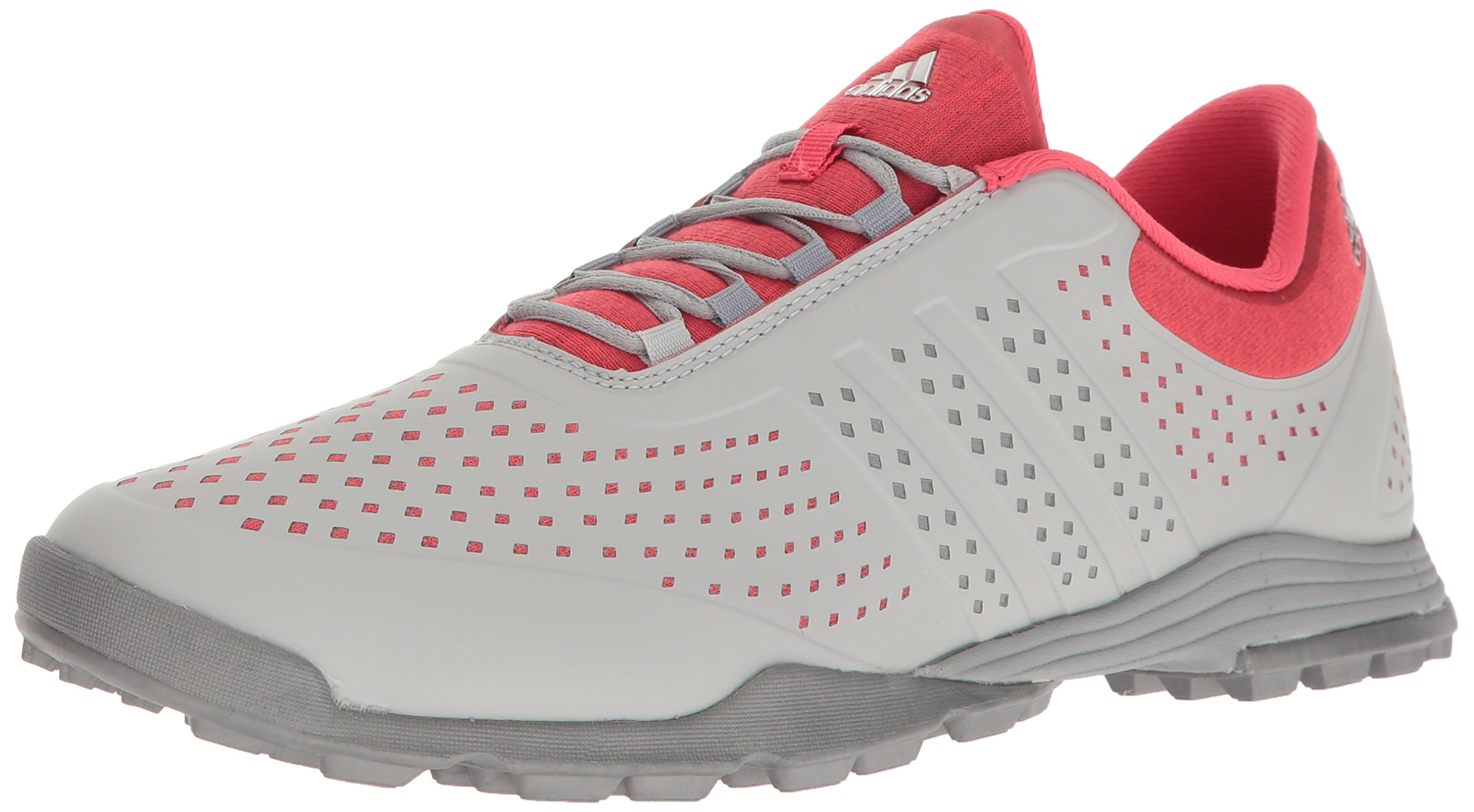 adidas Women's Adipure Sport Golf Shoe, Core Pink, 9 M US