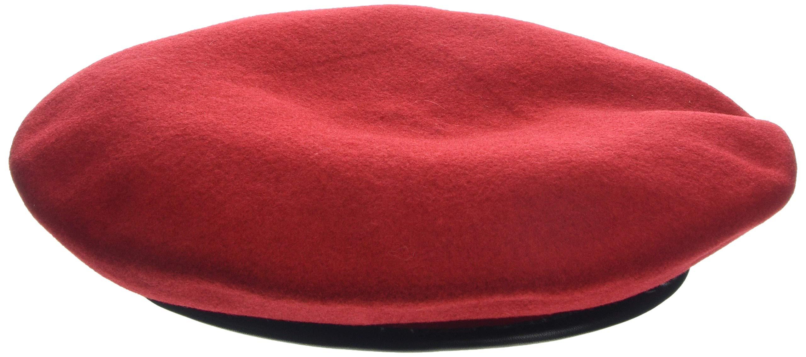 Kangol Classic Monty Beret, The Original Beret, Red (Small)