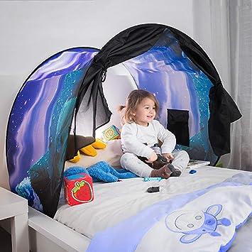 Kinderbett Zelt Zeltdach Tunnel Bettzelt Bogen Bettdach Amazon De Baby