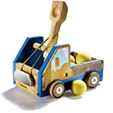 Stanley Jr DIY Truck Catapult Building Kit for Kids JK005-SY: Children's Yellow Wood Construction Toy Beginning…