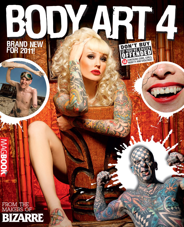 Bizarre Body Art 4