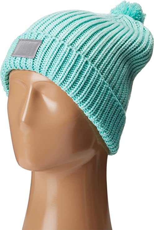 ebe231daea5 Under Armour Women s Shimmer Pom Beanie (Youth) Reflection Crystal Silver Hat  One