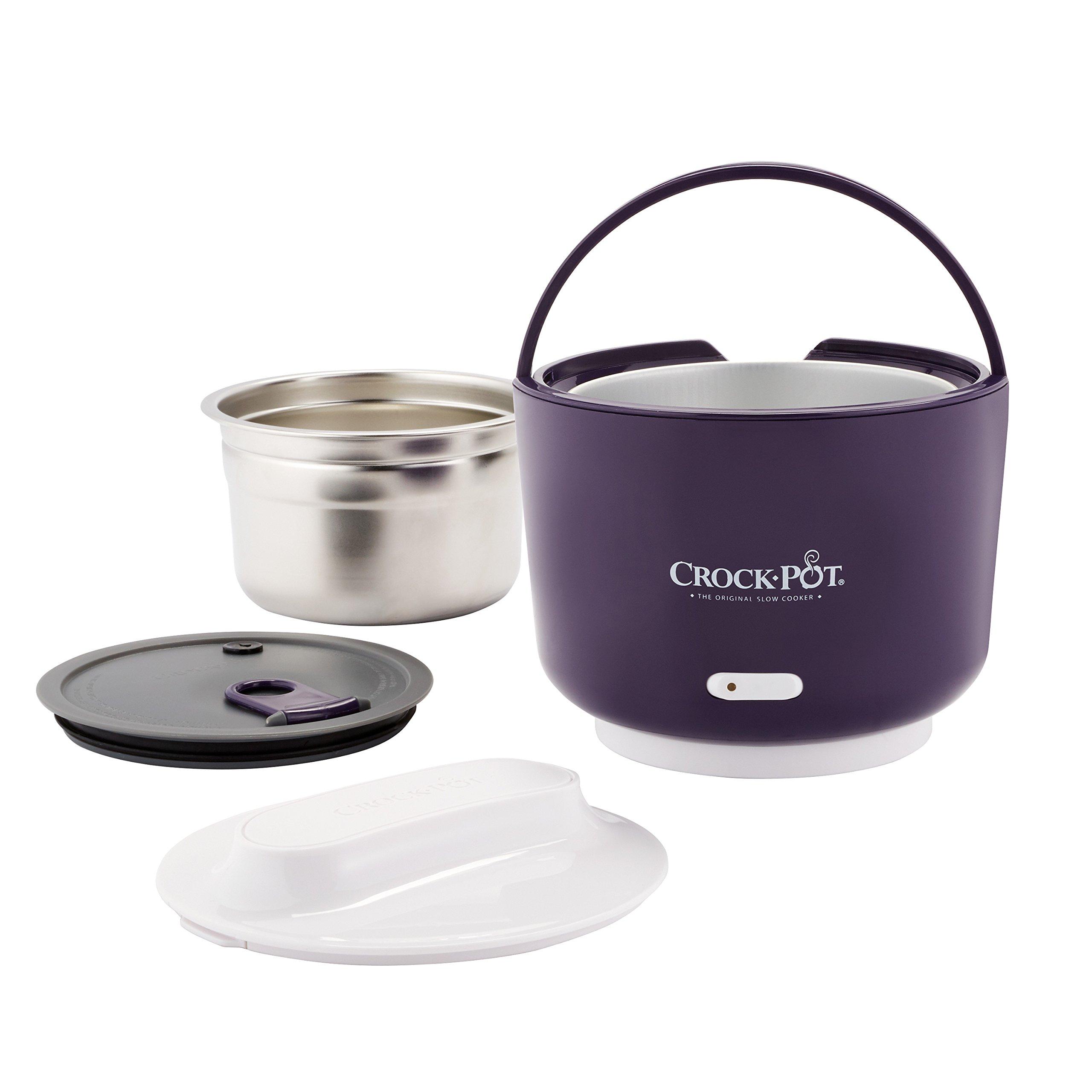 Crock-Pot 24-Ounce Lunch Crock Food Warmer, Deluxe Edition, Purple by Crock-Pot (Image #3)