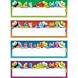 "Trend Enterprises Frog-Tastic! Desk Toppers Name Plates (32 Piece), 2-7/8"" x 9-1/2"""