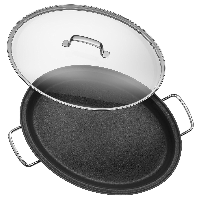 WMF Profi Plus - Sartén con tapa, cromargan 18/10 acero inoxidable 26 cm (Diseñado y fabricado en Alemania): Amazon.es: Hogar