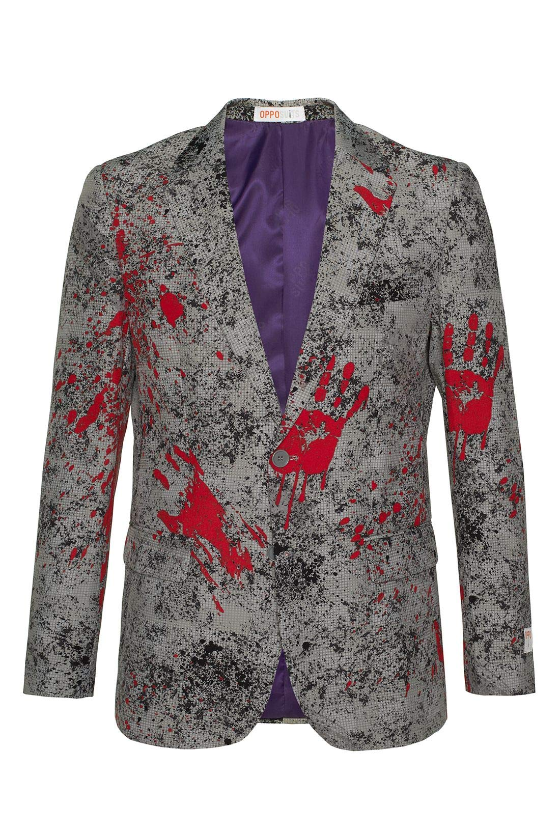 OppoSuits Halloween Jackets for Men - Zombiac - Includes Stylish Blazer - US 40 by OppoSuits