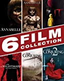 Halloween Movie Bundle: Annabelle, Annabelle: Creation, A Nightmare on Elm Street, IT, The Conjuring 1-2 [Blu-ray]
