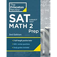 Princeton Review SAT Subject Test Math 2 Prep, 3rd Edition: 3 Practice Tests + Content Review + Strategies & Techniques