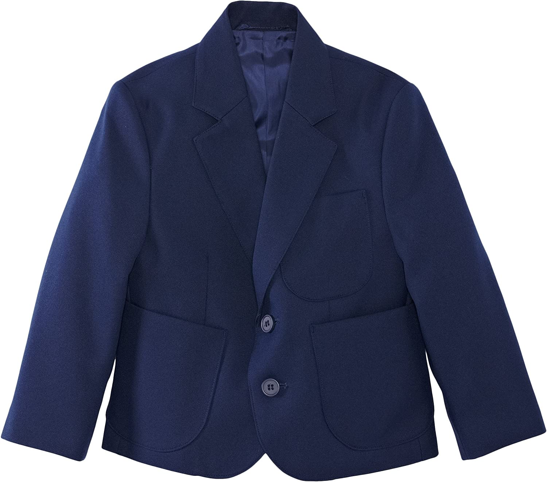 Blue Max Banner Boys Ziggys Zip Entry School Blazer