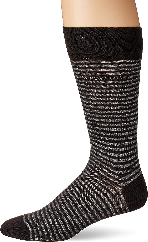 Hugo Boss Mens Rs Stripe Dress Sock