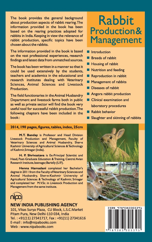 Rabbit Production and Management