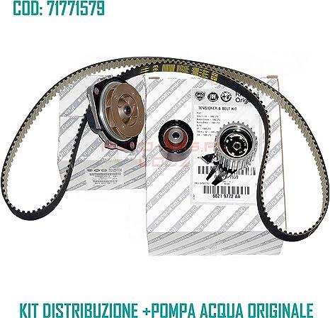 KIT DISTRIBUZIONE ORIGINALE POMPA ACQUA ALFA ROMEO 147 1.9 JTD 16V 71771579