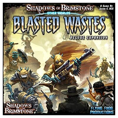 Shadows of Brimstone: Blasted Wastes - Deluxe: Toys & Games