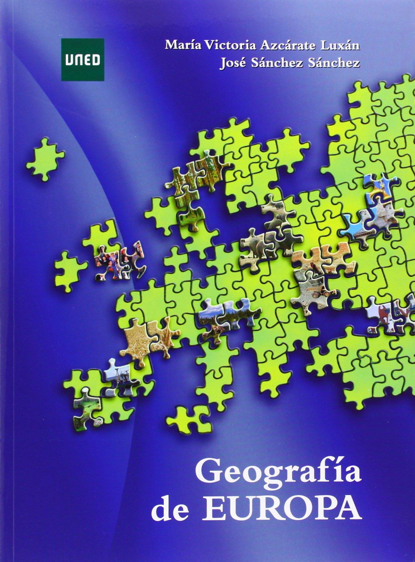 Geografía de Europa (GRADO): Amazon.es: Azcárate Luxán, M.ª ...