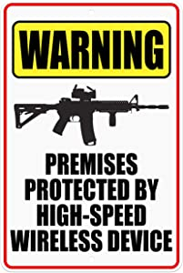 CJ Artisans Premises Protected by High-Speed Wireless Device AR-15 8