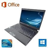 【Microsoft Office 2016搭載】【Win 10搭載】TOSHIBA RX3/新世代Core i5 2.66GHz/メモリ4GB/SSD 128GB/新品外付けDVDスーパーマルチ/13インチ/無線LAN搭載/中古ノートパソコン/
