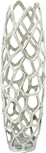 Deco 79 Aluminium Decorative Vase 8″ H-37660