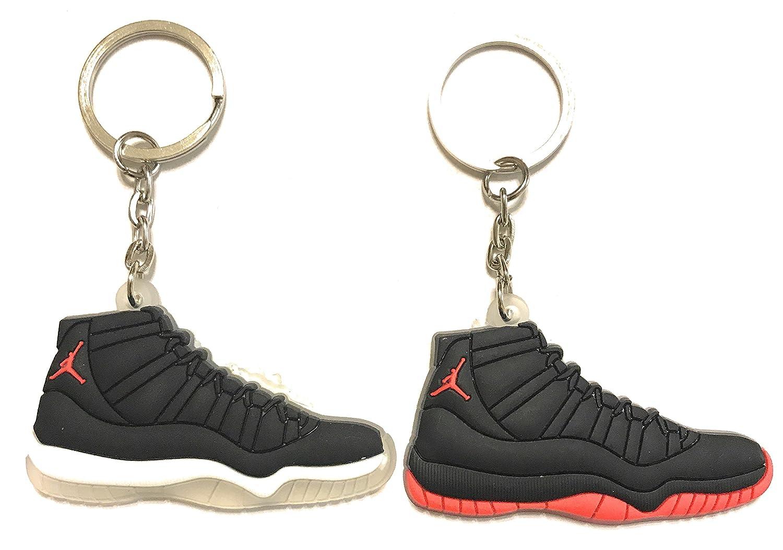 WeTheFounders Shoe Sneaker Keychains AJ-Retro 11 2 Pack