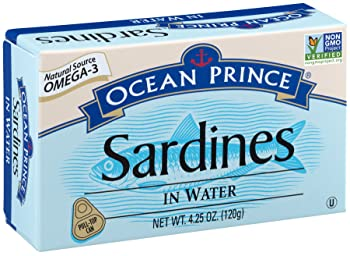 Crown Prince Ocean Prince 4.25-oz Canned Sardine