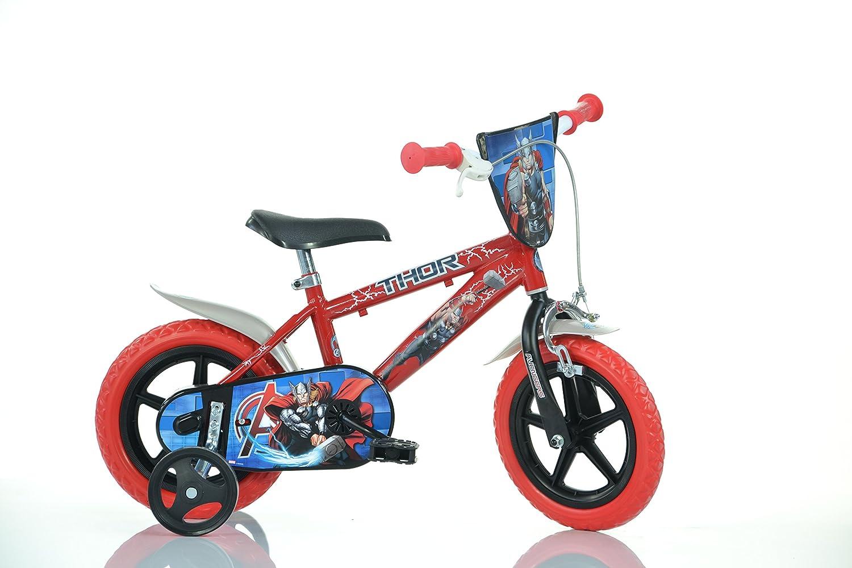 Dino Bikes 412UL-THR マーベル ソー 12インチ 自転車 マルチカラー 60×80cm