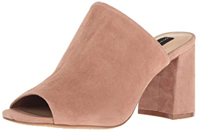 c84019b347 Image Unavailable. Image not available for. Color  Steve Madden Women s  Fume Mule Mauve Suede ...